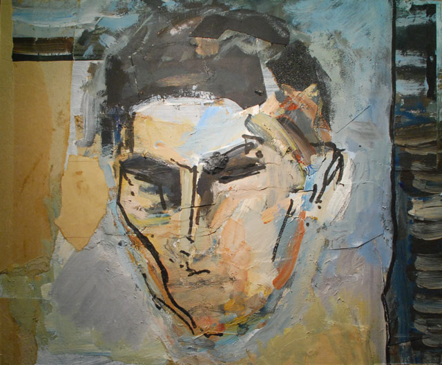 OIL portrait of Franz Kafka