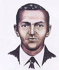 A 1972 F.B.I. composite drawing of D. B. Cooper