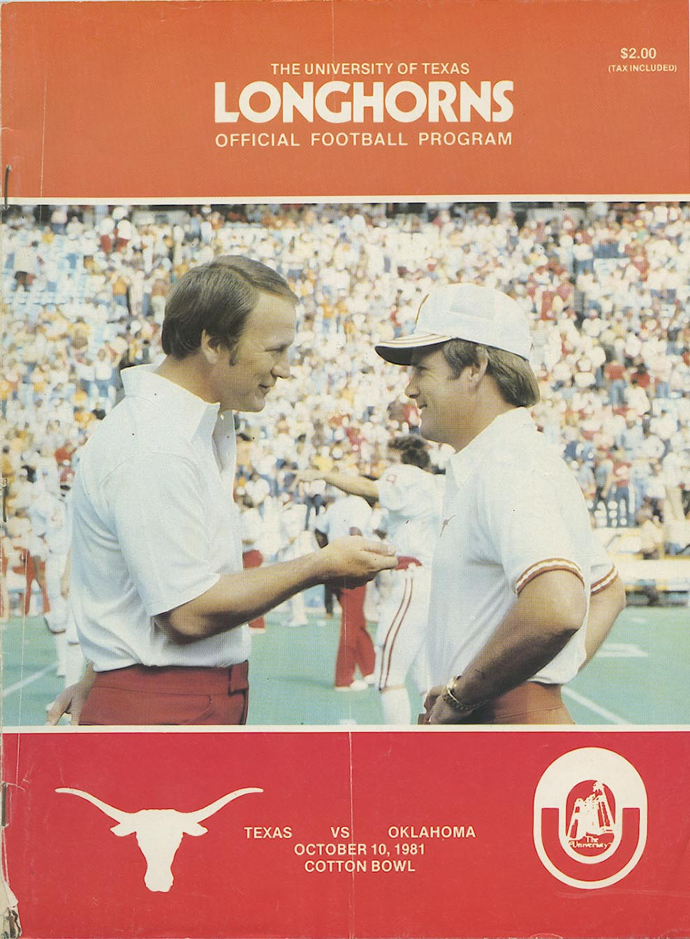 Longhorns Official Program