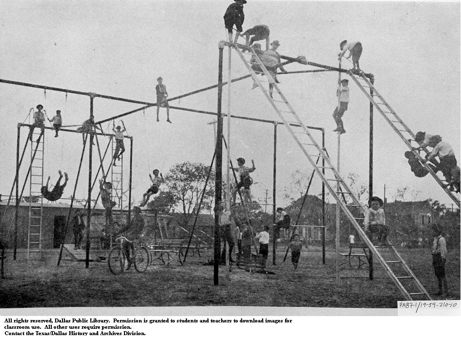 Fact Check Is This A Photograph Of A Playground From 1900
