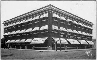 Murray Lofts. Dallas Tent u0026 Awning Company Advertisement & Murray Lofts - Historic Downtown Dallas Residences - Dallas Public ...